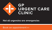 GP urgent care clinic - not all urgencies are emergencies. Book an appointment