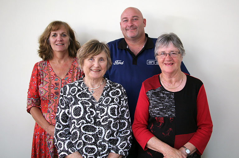 Four members of the Fremantle Hospital Community Advisory Council.